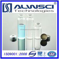 Free samples glass vial 20mm 10ml aluminum crimp caps with GC Septa