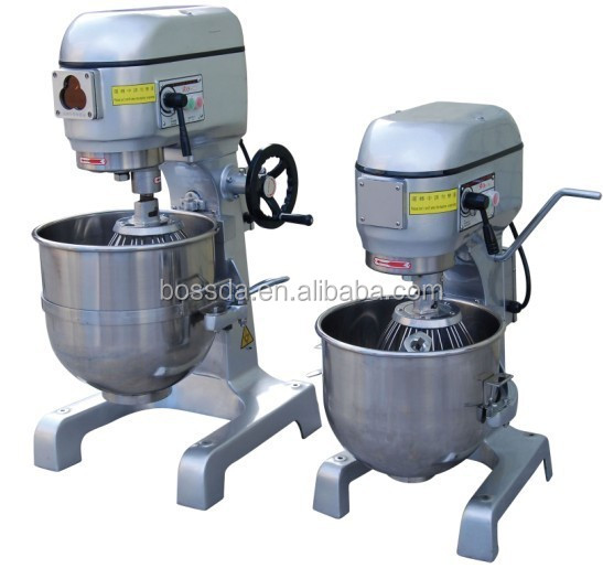 BOSSDA commercial energy saving 20L planetary cake mixer used for shop factory