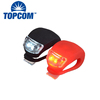 Wholesale Cheap Colorful Silicone Bicycle Accessories LED Bike Tail Light