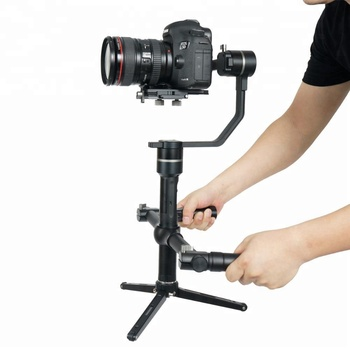 Professional 3-axis camera dslr gimbal for dslr camera stabilizer