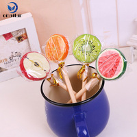 Korean stationery cute kawaii fruit candy pen for kids Christmas gift