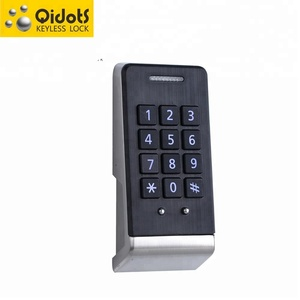 Digital Locker Lock F003 Door thickness 5-25mm electronic cabinet lock used in delivery locker drawers and furniture Cabinet