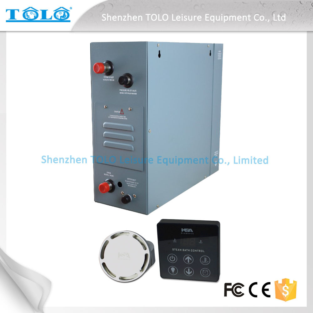 9kw 380v bath generator steam for steam shower room
