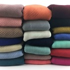 Hot selling women plain scarf muslim crinkle hijab viscose pleated cotton hijab scarf