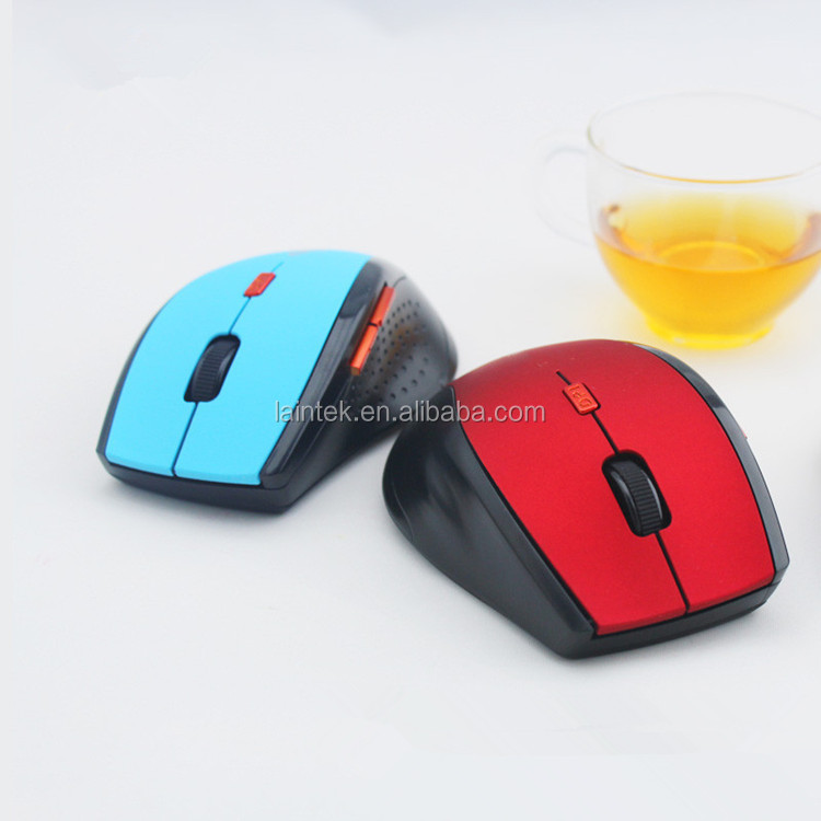 핫 세일 대량 컴퓨터 마우스 게임 풀 사이즈 2.4g 컴퓨터 비틀 광학 5D 침묵 OEM 마우스 맞춤 무선 마우스 게이머