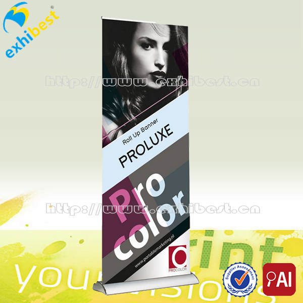 Outerdoor Advertising New Design LED Electric Roll Up Banner