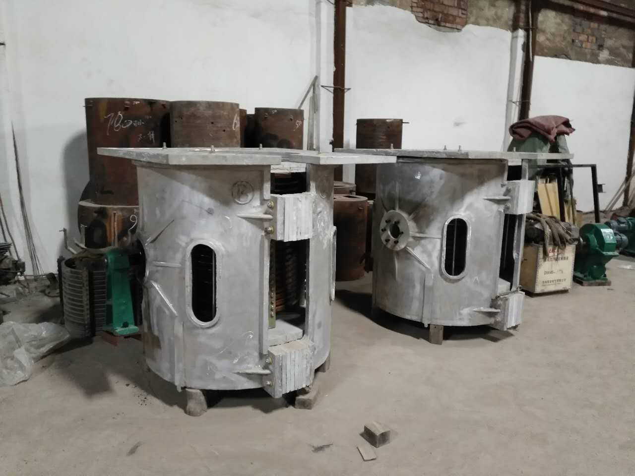Continuous melting equipment iron steel zinc copper melter 2000 temperature furnace