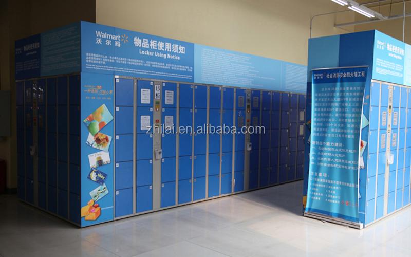 Smart armadio metallico deposito bagagli di codici a barre