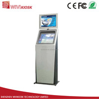 15inch restaurant ordering bill payment kiosk with thermal printer