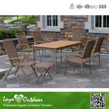 Broyhill Outdoor Furniture Wilson And Fisher Patio Furniture Aluminium PS  Wood Table Sets Outdoor Furniture Layo
