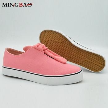 e5c293654 2018 высокие продажи дешевых повседневная обувь женские кроссовки Китай  розовый парусиновая обувь