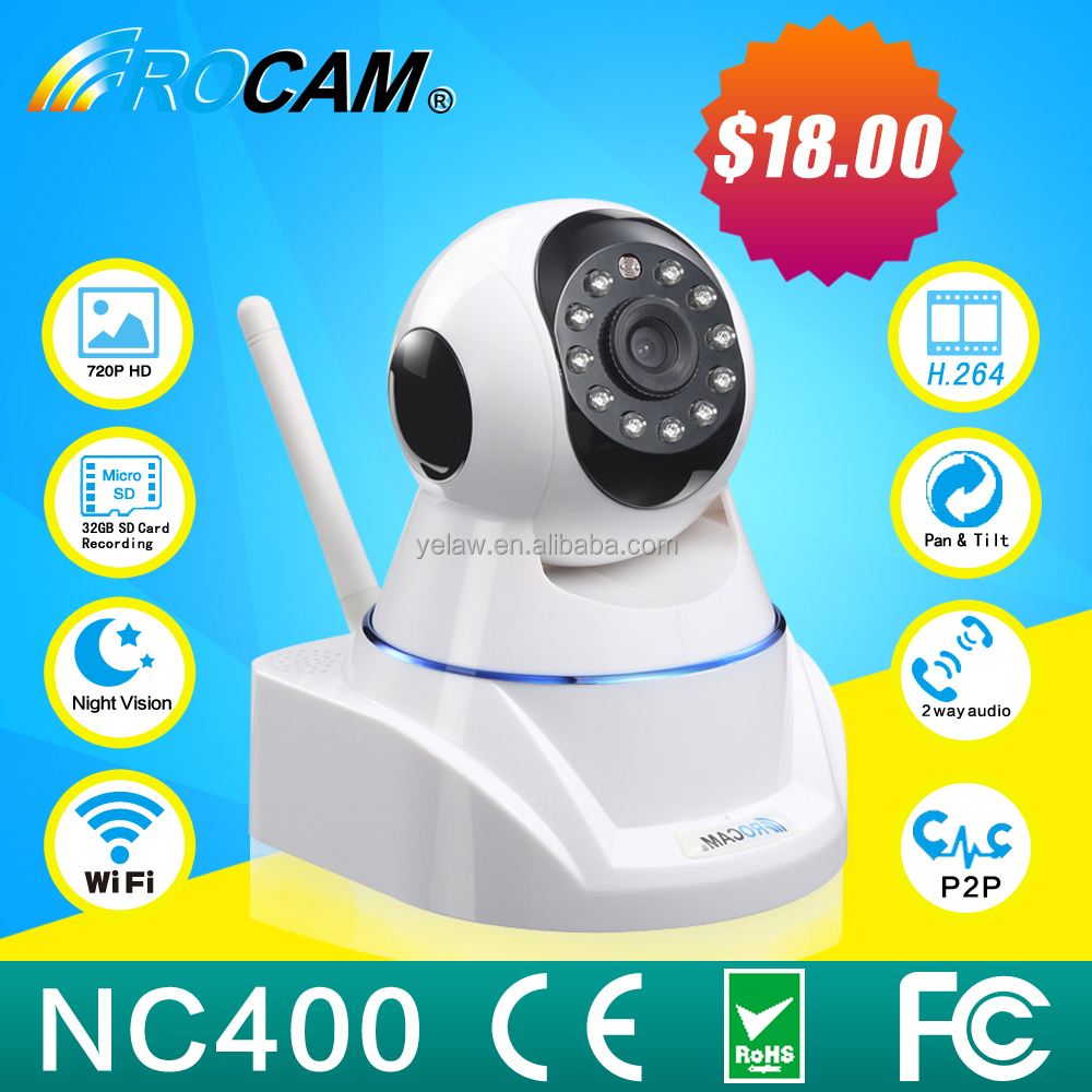 Home Security Alarm Systems GSM Mini Wireless Camera Long Range with Night Vision