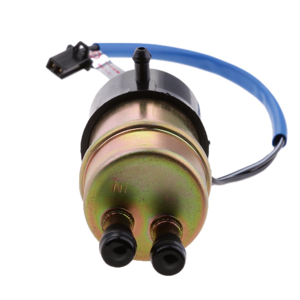 12V Electric Fuel Pump Low Pressure Bolt Fixing Wire Petrol  For Kawasaki KTM Suzuki Yamaha Motorcycle ATV 8mm Inlet & Outlet