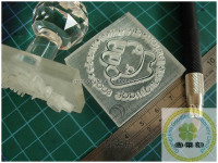 Custom acrylic soap molding stamp