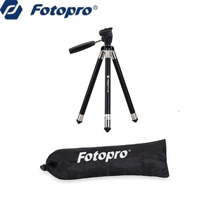 Fotopro sport camera factory directly lightweight compact traveler tripod mount for camera or smartphone