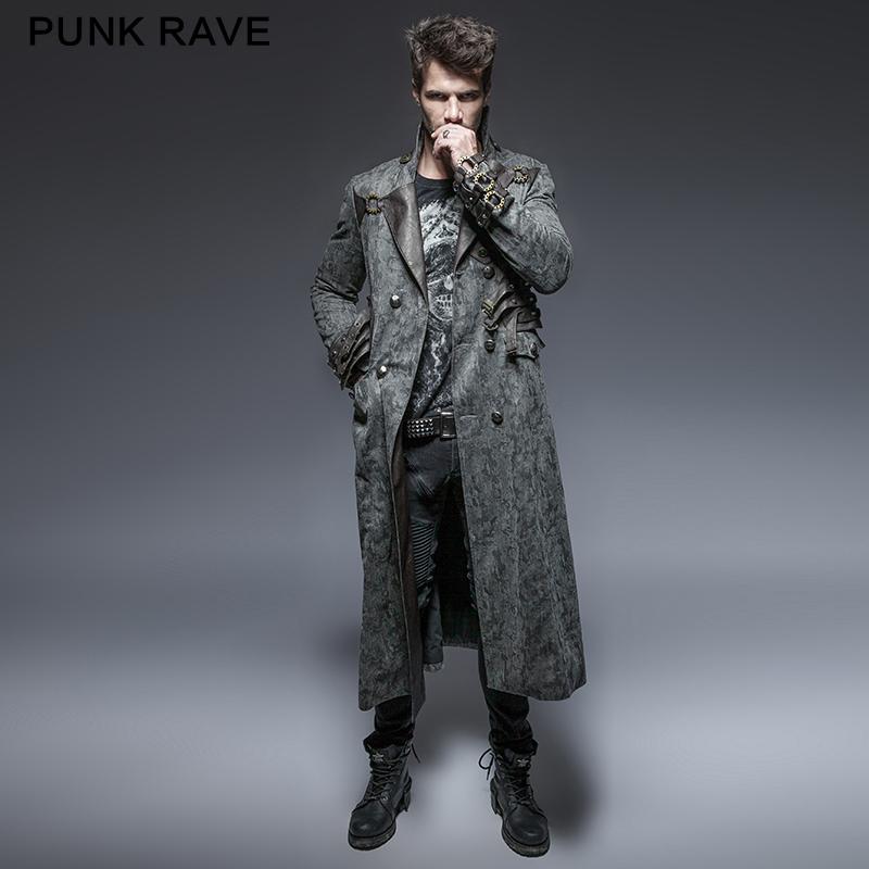 Y 647 Zwarte Vrijdag Gothic Stijl Heren Lange Jassen Punk Rave Kleding Jas Buy Punk Rave Jas,Punk Rave Kleding,Punk Rave Product on