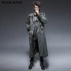 Y-647 Black Friday Gothic style mens long coats punk rave clothing coat