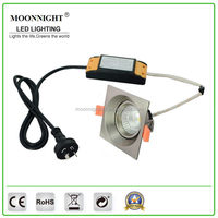 New High Luminous Efficiency excellent quality led cob downlight