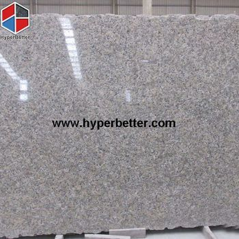 Butterfly yellow granite slab