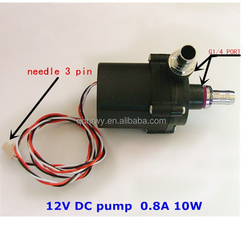 High Performance Silent 12v Water Cooling Pump For Computer