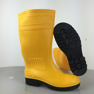 Latest technology safety s rubber rain boot women