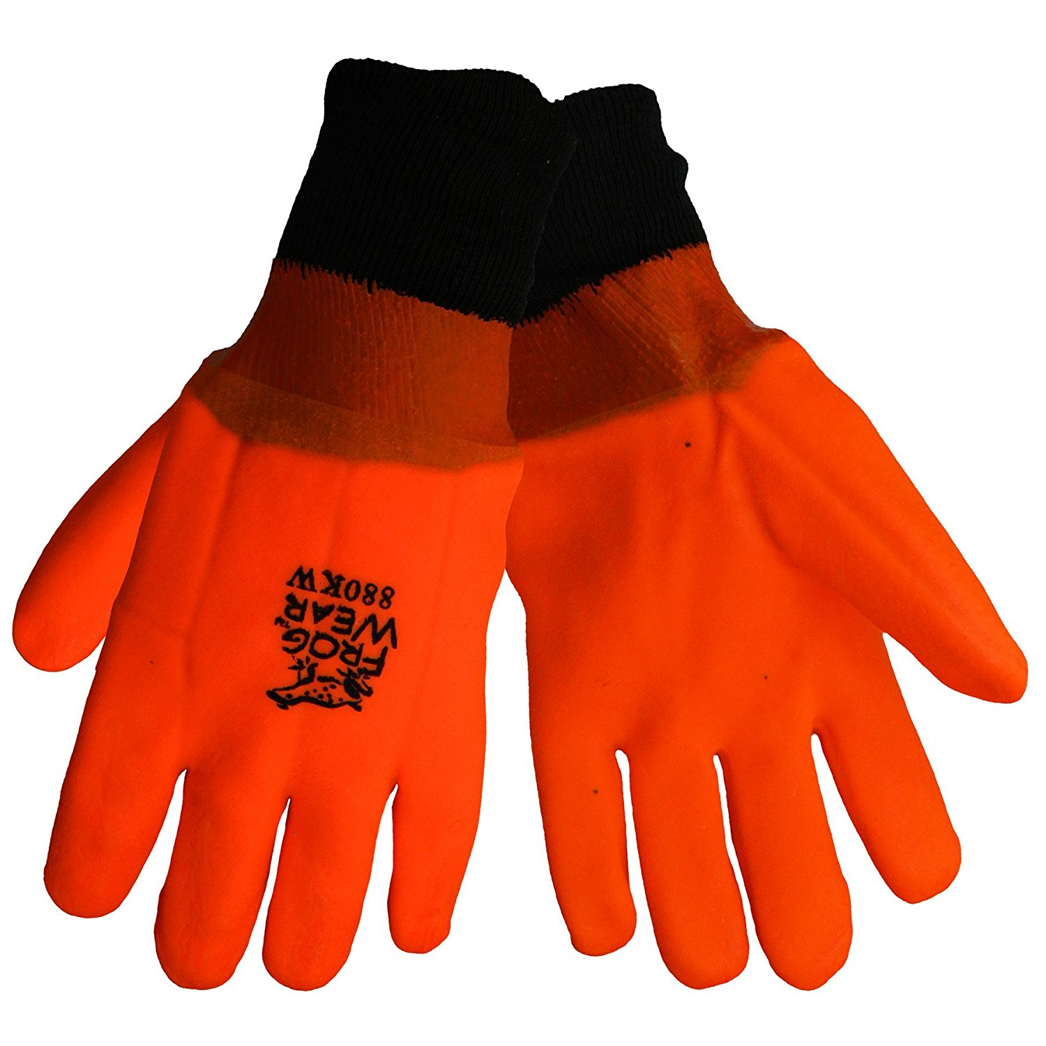 SHOWA Atlas 660XL-10 Triple-Dipped PVC Coated Glove with Cotton Liner X-Large Pack of 12 Pairs