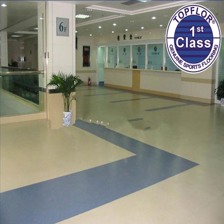 Antibacterial Vinyl Flooring Roll For Hospital