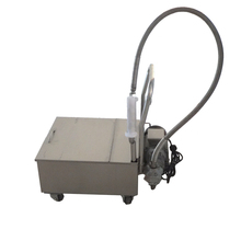Heavy duty deep fryer oil filter/cooking oil filter machine and price