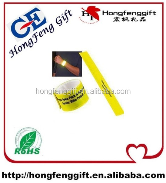 custom logo and printing kids slap bands for promotional gifts