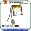 small 502020 rechargebale 3.7v polymer li-ion battery 3.7v 150mah
