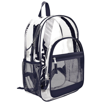 359667ba33 Wholesale school children transparent clear pvc backpack girls red clear  vinyl backpacks