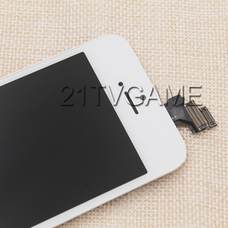 No Dead Pixel LCD Screen With Touch Digitizer Display Assembly with Frame,White and Black Color Available