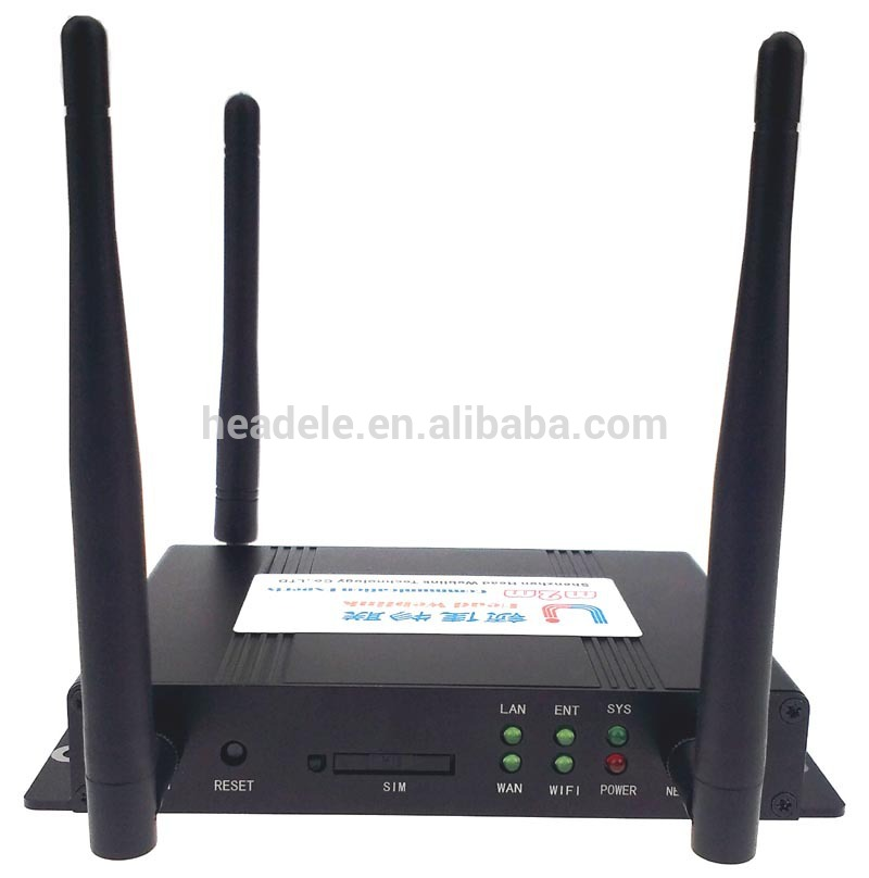 4g modem wifi router with antenna sim card slot 5km long distance signal FDD B28 CAT4