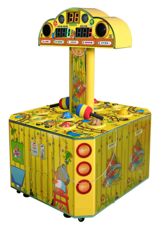 Hitty Mouse ,hammer amusement game machine,2players