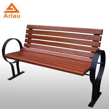 Arlau Solid Wooden Garden Bench Outdoor Bench Teak Garden Tree Soild