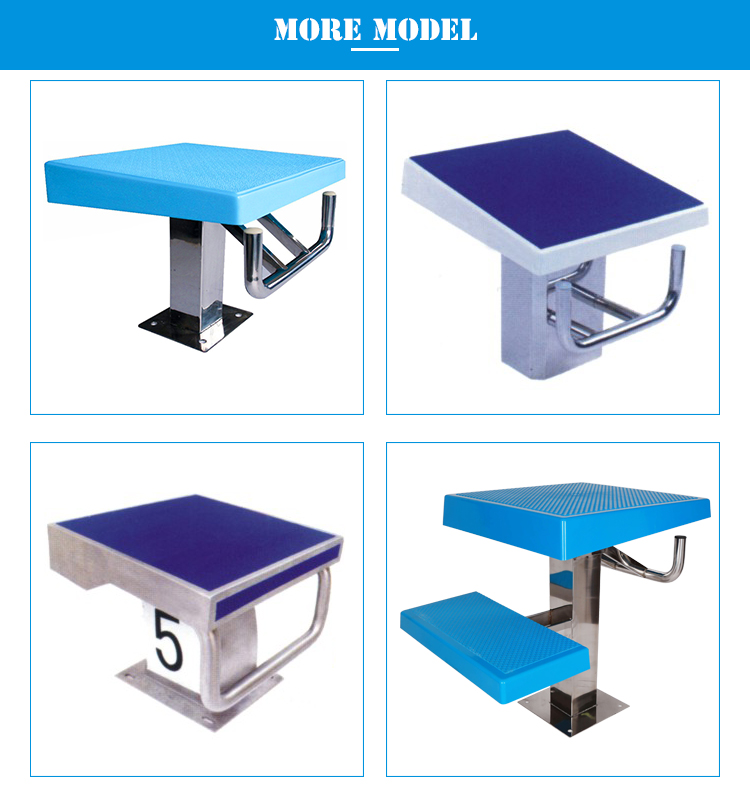 Swimming Pool Equipment Used Competition Starting Blocks For Swimming Pool