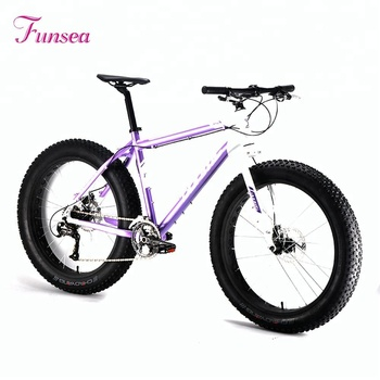 OEM ODM famous brand custom logo China sport cycling fatbike wholesale price alloy frame 26X4.0 big tire fat snow bike for men