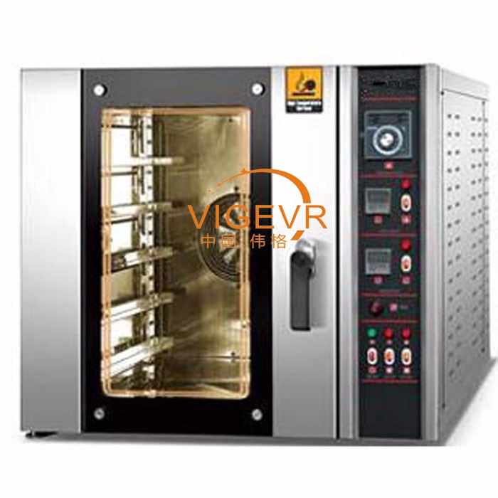 Hot selling Used Comb avaliable timer and Steam 5 trays commercial Gas Convection bakery Pizza oven with proofer