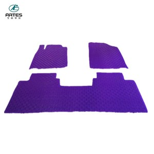 5d car mats purple disposable car floor mats
