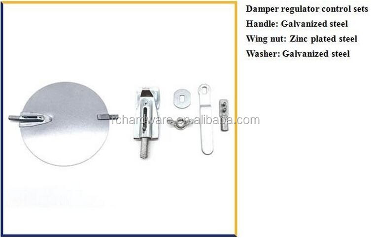China Blade Suppliers Manual Balancing Adjustable Damper
