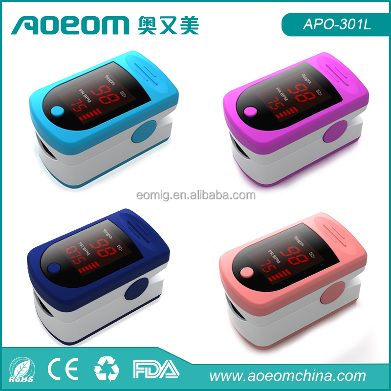 2016 hot sale pediatric finger infant pulse oximeter