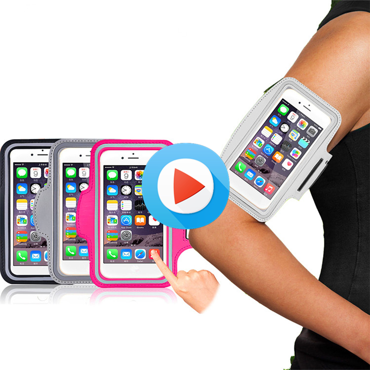 Hot selling neoprene armband sport armband case armband phone holder with low price