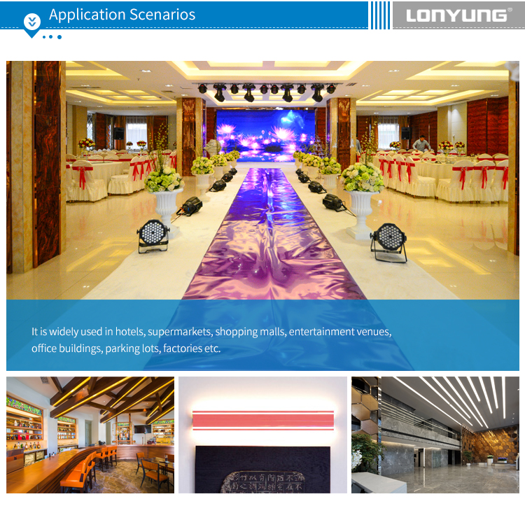 600mm 900mm 1200mm 1500mm 1800mm 2400mm led color-changing lamp linear ceiling light TUV GS SAA ETL