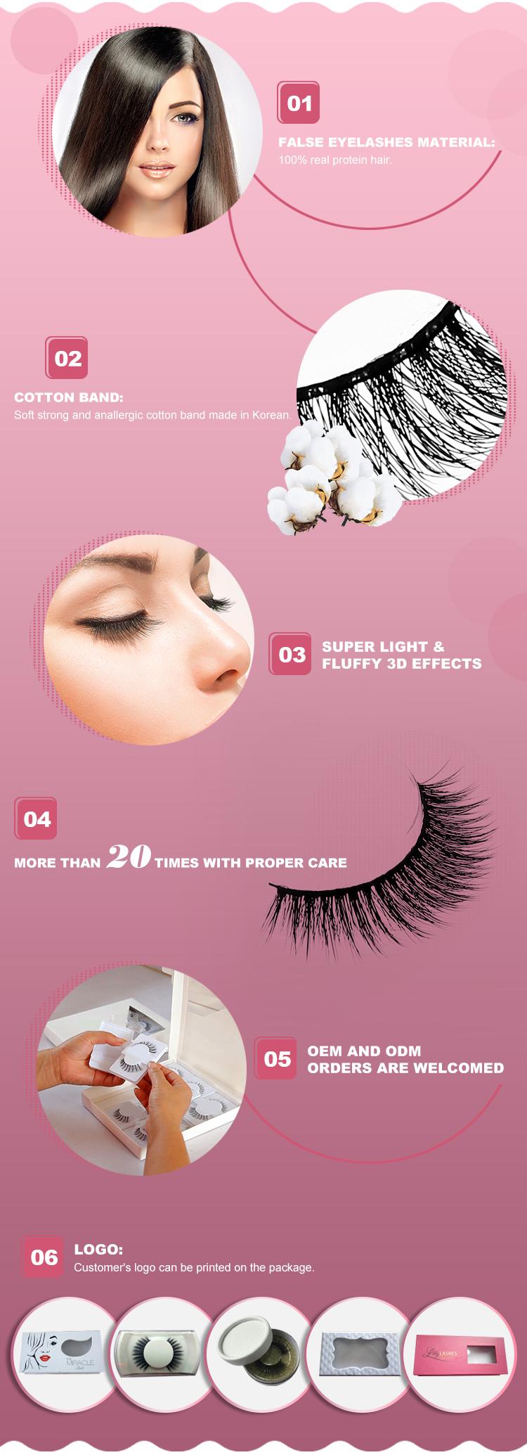 1cb747880b3 Hair straightener hand made 100% human hair strip eyelash false eyelashes