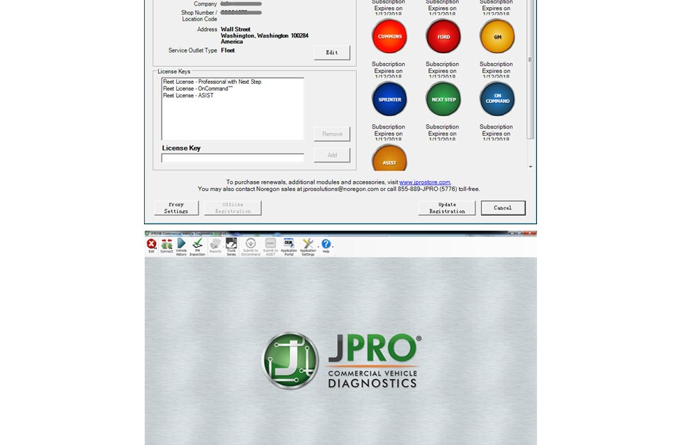JPRO Professional Software Bundle, DLA+ 2.0 Adapter Kit with NextStep 232125-NS