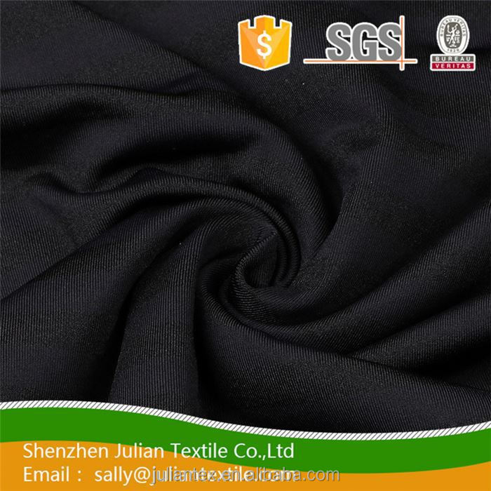 Black 140CM width 100gsm Knit textile pattern 15% spandex 85% nylon mesh jacquard weave europe style awning fabric