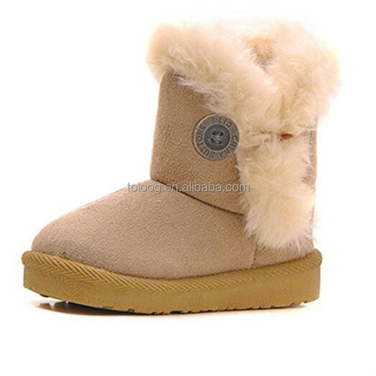 Fancy Girl Baby Kids Winter Boots Soft Feet Sole Shoes Online