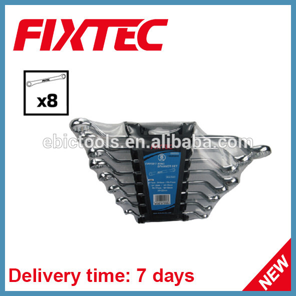 FIXTEC high quality china hand tool function offset ring spanner set