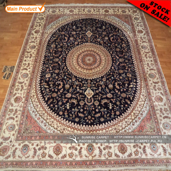 Silk Handmade Rugs Home Decor