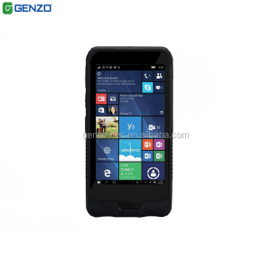 6 inch industrial handheld nfc pda with courier barcode scanner for rugged windows phone